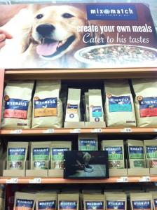 dog food display