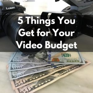 video budget