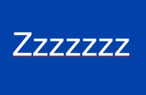 sleep z'z