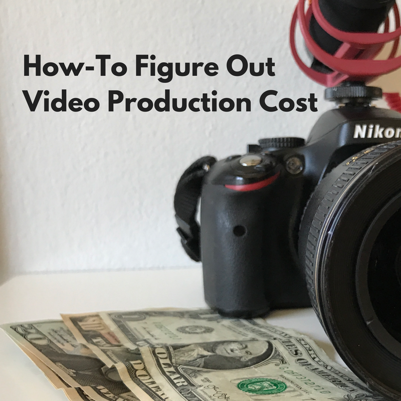 how-to figure out video production cost