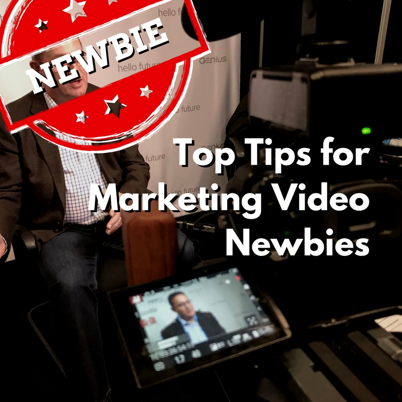 top tips for marketing video newbies