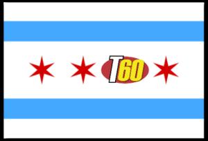 Flag Chicago-T60 w shadow